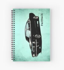 The 1965 Mustang Fastback Spiral Notebook