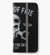 Wheels Of Fire... iPhone Wallet/Case/Skin