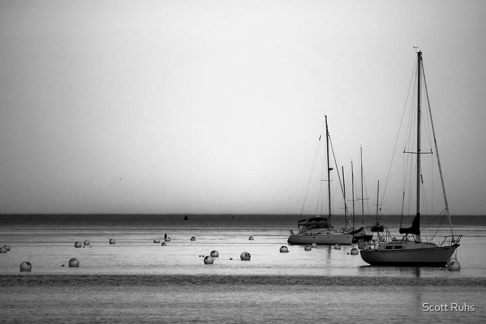 Yachts II by Scott Ruhs