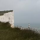 Beachy Head & Lighthouse - Sussex UK by indigo-song