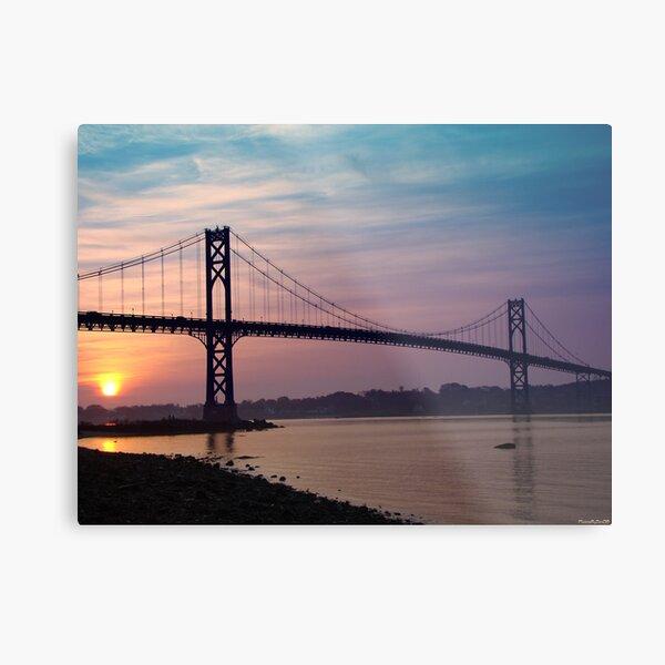 Mt. Hope Bridge Metal Print