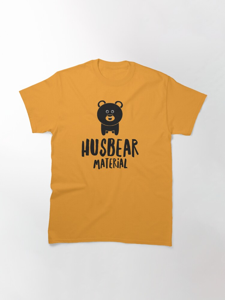 Alternate view of Husbear Material  Classic T-Shirt