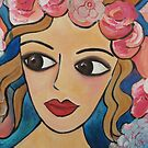 Pink Roses in my Hair by Debby Haskard-Strauss