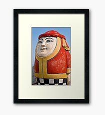 The Egg Man Framed Print