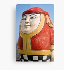 The Egg Man Metal Print