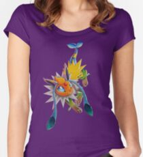 Chymereon Women's Fitted Scoop T-Shirt