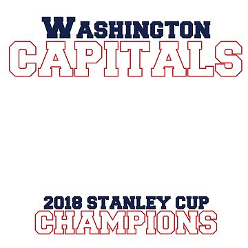 Washington Capitals - Stanley Cup Evolution by mymainmandeebo