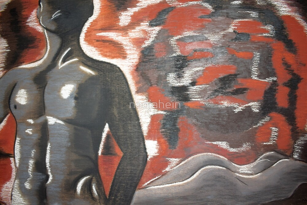female and male nude by nadjahein