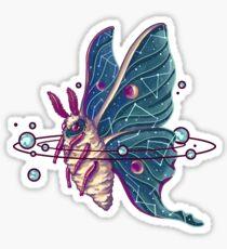 Pegatina Space Moth