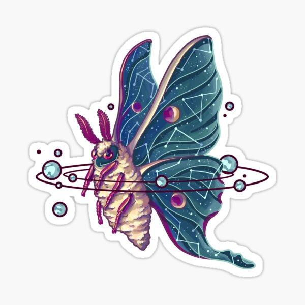 Space Moth Sticker