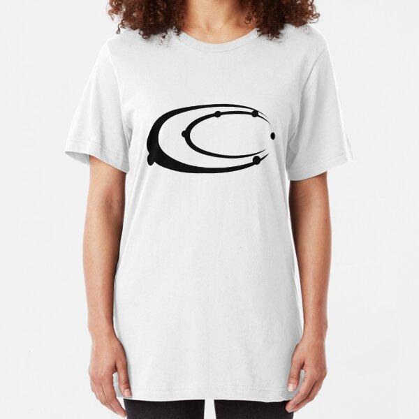 Carbon-Fibre Media Logo Slim Fit T-Shirt