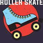 Hassen Sie nicht, Rollerskating-Liebhaberentwurf von Lightfield
