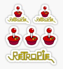 RetroPie Logo Sticker Set Sticker