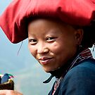 Red Zao Woman by Kerry Dunstone