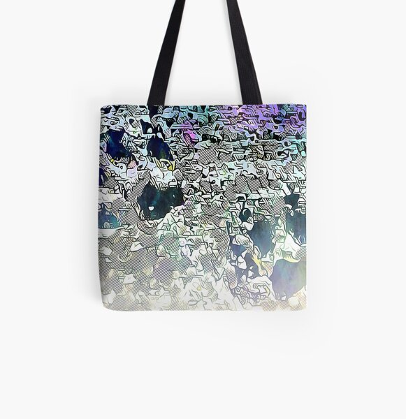 Barnie Paw Prints Next Generation 13 All Over Print Tote Bag