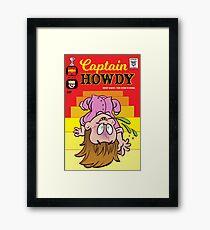 Little Horror Flicks - Captain Howdy Framed Print
