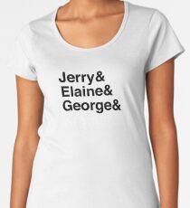 Seinfeld Squad Print Women's Premium T-Shirt
