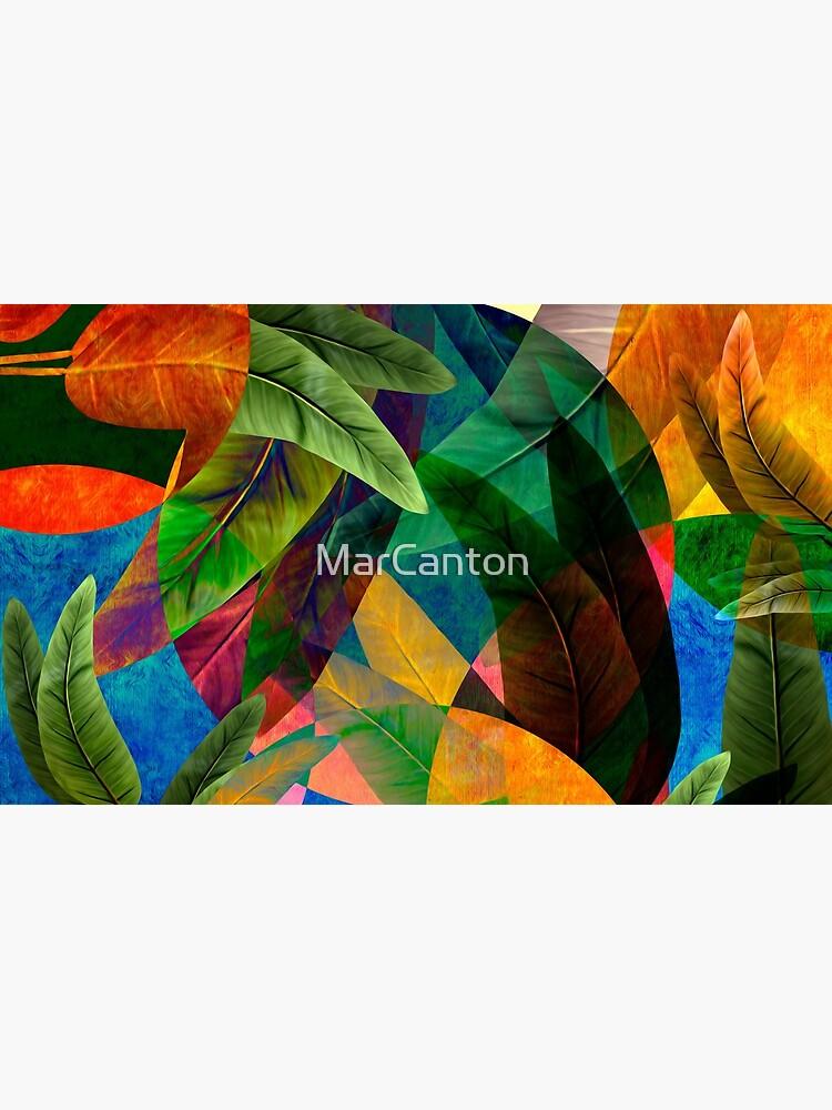 """Fantasía Retro Tropical Tiki"" de MarCanton"