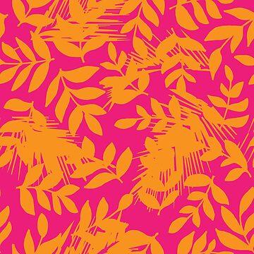 Summer Blush Foliage by lushkingdom
