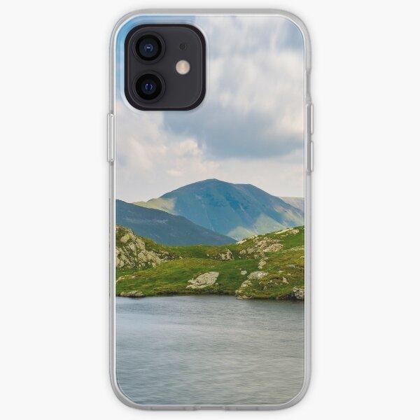 picturesque place around Capra glacier iPhone Soft Case