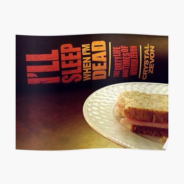 Enjoy Every Sandwich Poster