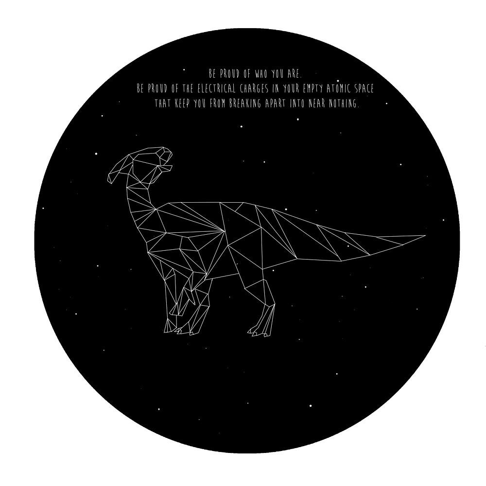 Proud Parasaurolophus by tophatmonster94