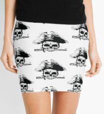 Pirates Adventure Mallorca Merchandise  Skull White Pattern Mini Skirt
