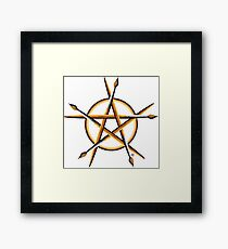 Pagan Painter Framed Print
