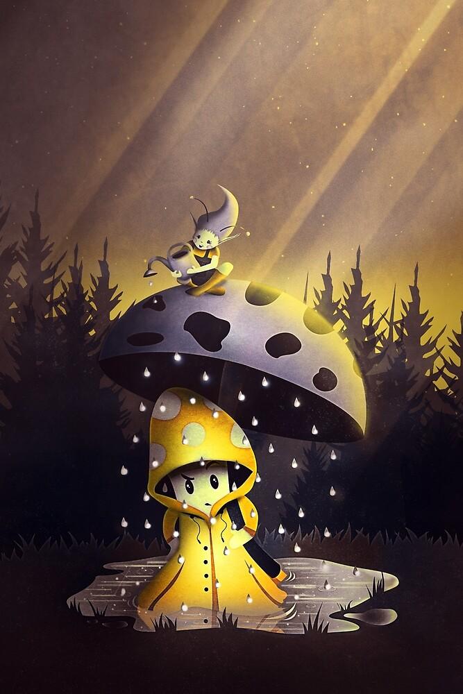 Rain Drops by schwebewesen