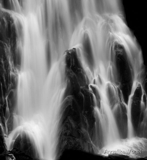 Kuranda Waterfall ... by Angelika  Vogel