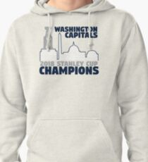 Washington Capitals 2018 Stanley Cup Champions Roster in City Skyline  Pullover Hoodie 2a8989eba
