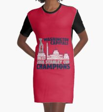 ... wholesale price 8ff0d 464e3 Washington Capitals 2018 Stanley Cup  Champions Roster in City Skyline Graphic T ... 69ca3df0d