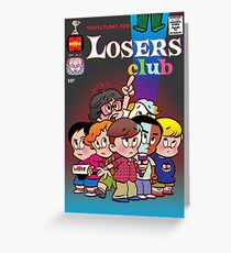 Little Horror Flicks - Losers Club Greeting Card
