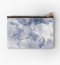 BLUE WATERCOLOR #minimal #marble #design #kirovair #decor #buyart #blue #design #elements Studio Pouch