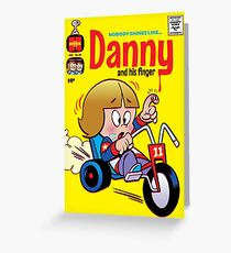 Little Horror Flicks - Danny and his Finger Greeting Card