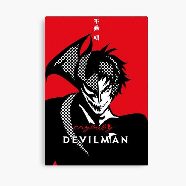 DEVILMAN CRYBABY - poster  Canvas Print