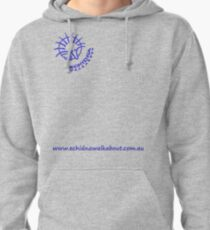 Echidna Walkabout logo blue horizontal text Pullover Hoodie