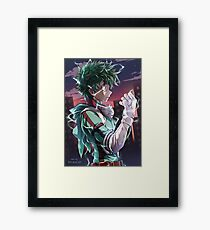 Deku - My hero academia Framed Print