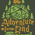 Adventureland Summer RPG camp by artlahdesigns