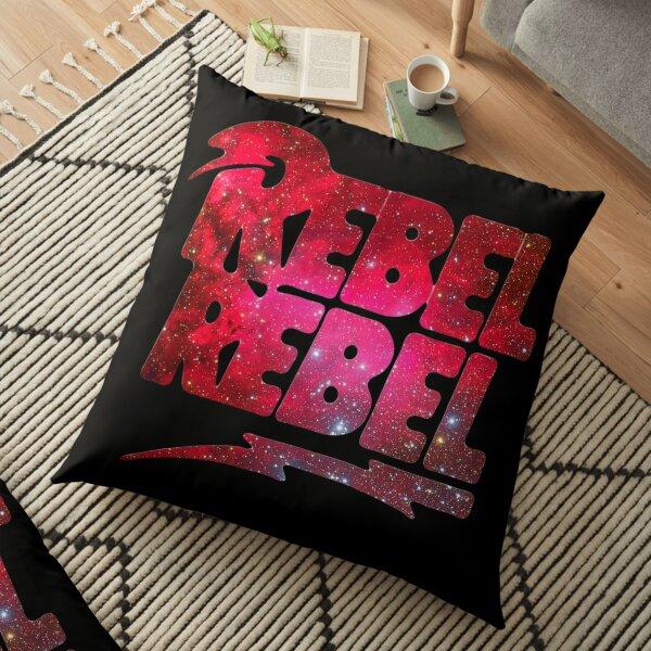 REBEL REBEL - DAVID BOWIE Floor Pillow