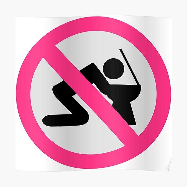 Pas d'alcool Poster