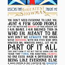 Lessons That The Greatest Showman Taught Me by littobitto