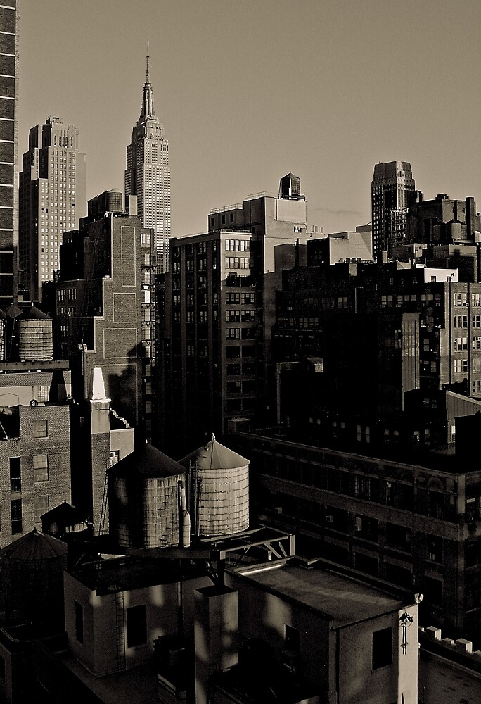 New York City  by bron stadheim