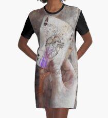 Ein Ass im Ärmel haben T-Shirt Kleid