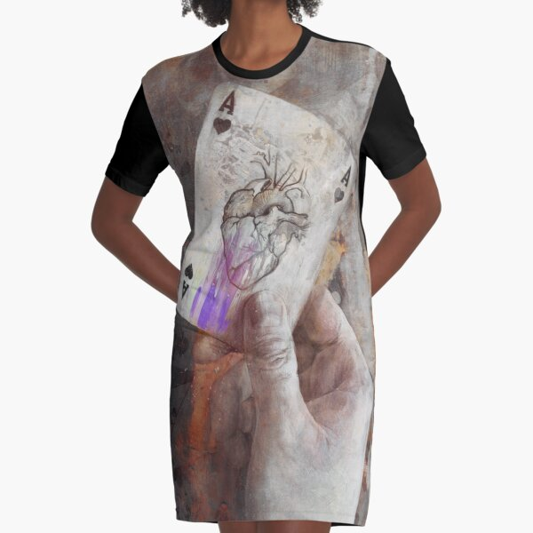Having an Ace up your sleeve Graphic T-Shirt Dress