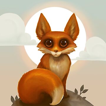 Rosy Red Fox by penguinstein