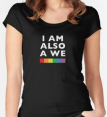 I am also a We - Sense8 Women's Fitted Scoop T-Shirt