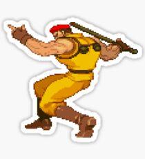 Street Fighter Alpha - Rolento Sticker