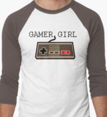 Gamer Girl  Men's Baseball ¾ T-Shirt