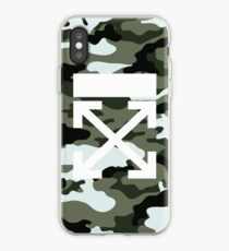 Off White Camo iPhone Case